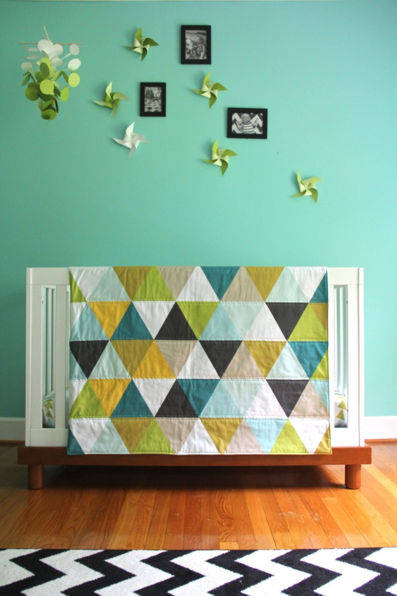 I love this quilt, so different and modern, has anyone made this pattern and is it easy?