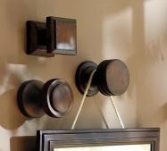 Door hardware for hanging pictures!!