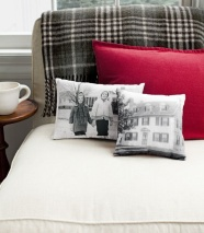 Your own pictures on pillows!!! Great way to remember special moments.