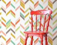Love this pattern and the color. I don't think I'd have enough patience to paint all those colors.