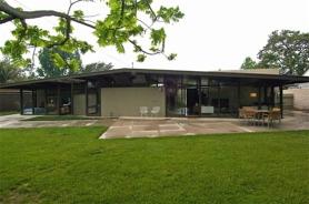 mid century modern house, modern design