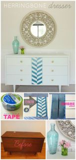add some color to boring furniture!