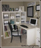 another office idea for a larger office space.