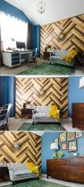 reclaimed wood, love the pattern and the color, would look pretty as a floor too.