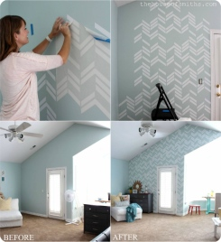 Scattered-Herringbone-vinyl-decal-wall-thehouseofsmiths.com_