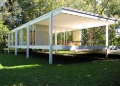 Love the Farnsworth House.