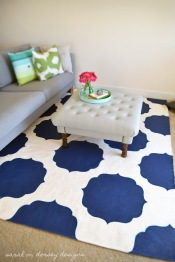 diy painted rug 4 smd
