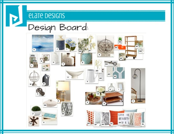 Ashley Hutchinson Design Board