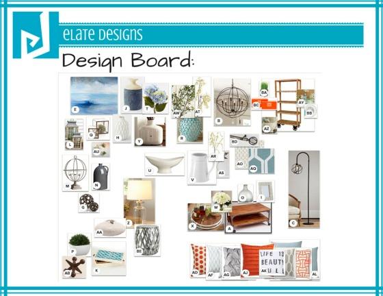 Ashley Hutchinson Design Board