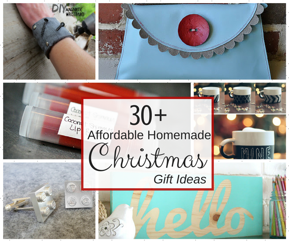 30 + Affordable Homemade Christmas Gift Ideas | purelygenuine