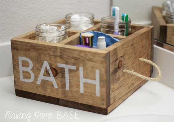 DIY-Wood-Bathroom-Caddy
