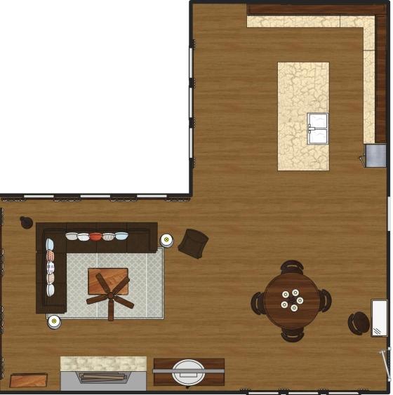Ashley Hutchinson Living Room Space Plan