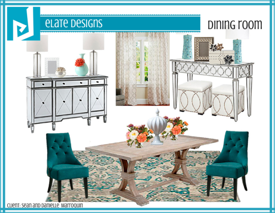 Danielle's Dining Room Design Board_Final