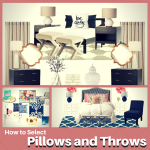 How to select Pillows and Throws