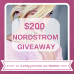 $200 NORDSTORM GIVEAWAY