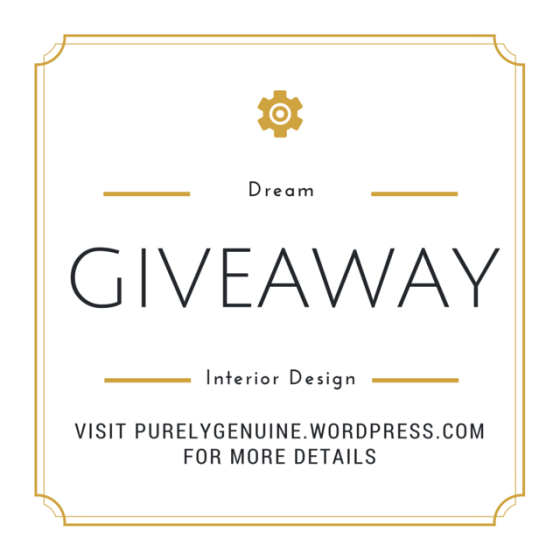 Interior Design Dream Giveaway (5)