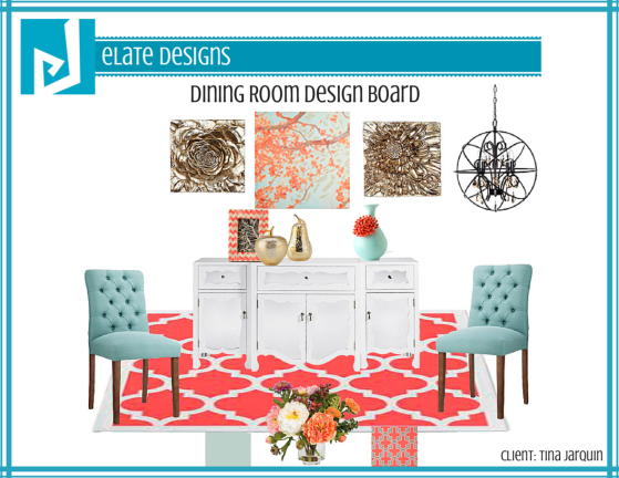 Tina Jarquin_Dining Room_Design Board