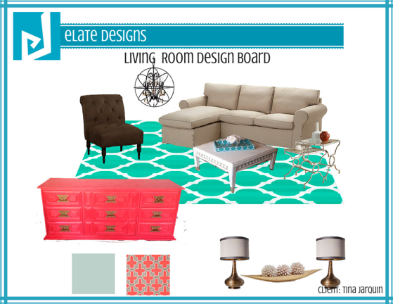 Tina Jarquin_Living Room_Design Board